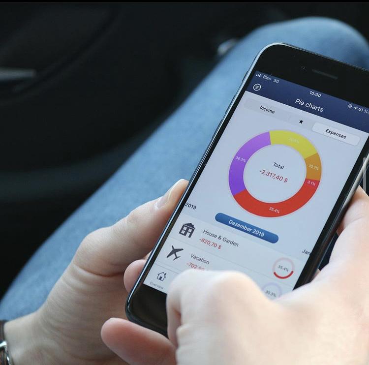 MoneyStats - Haushaltsbuch App